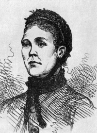 Contemporary sketch of Catherine Eddowes