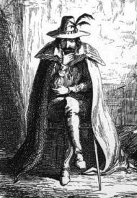 Guy Fawkes by George Cruikshank (1841)