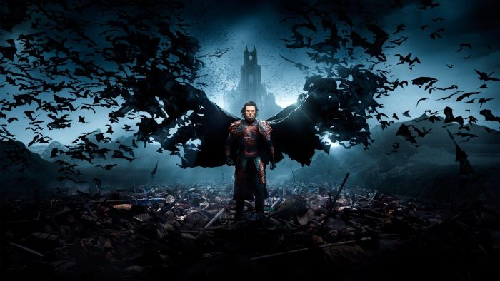 Luke Evans in Dracula Untold (Gary Shore, USA. 2014)