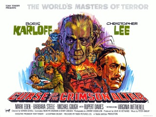 Poster for Curse of the Crimson Altar