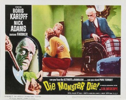 Die, Monster, Die! - lobby card