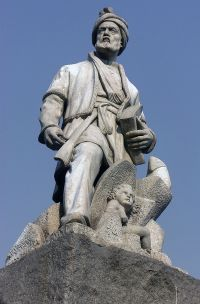 Statue of Ferdowsi (940–1020 CE) in Ferdowsi Square in Tehran