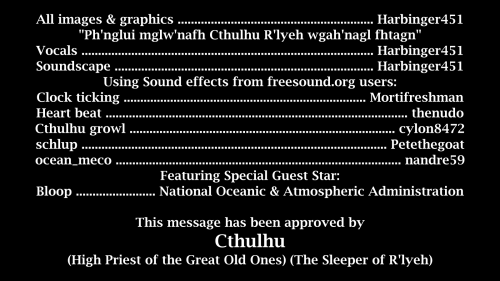 Video Credits