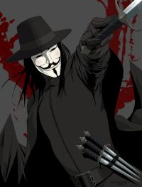 Buy the V for Vendetta graphic novel at Amazon.com