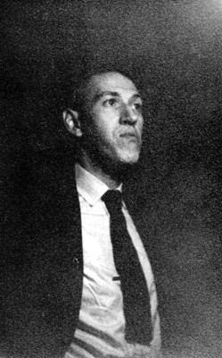 Influential horror writer H. P. Lovecraft in 1933